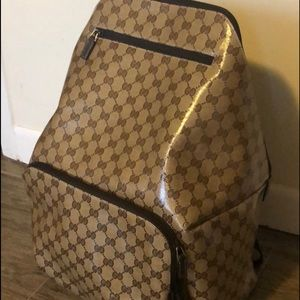 Crystal Gucci back pack large